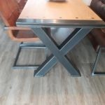 tafel staal frame